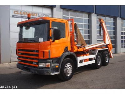 Scania P 114.380 6x4 Retarder Steel Manual