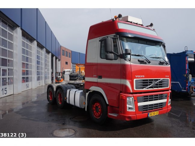 Volvo  FH 12.460 6x4 Manual Kiphydraulic (1)