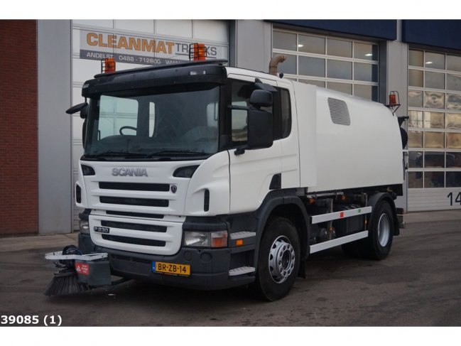 Scania  P 230 Bucher Schorling Cityfant 60H (0)