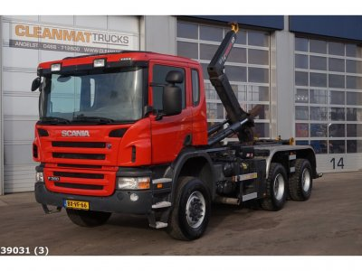 Scania P 360 B 6x6 Only 20.539 km!!