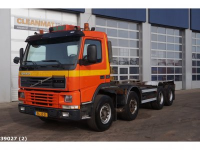 Volvo FM 12.420 8x4 Manual Steel