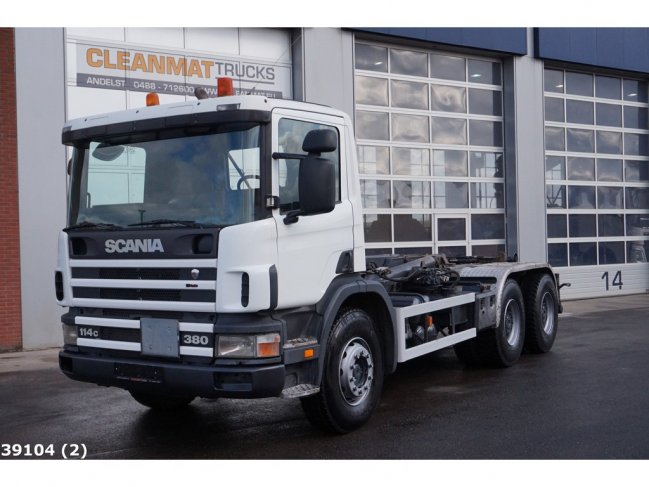 Scania  P 114.380 6x4 Manual Full Steel (1)