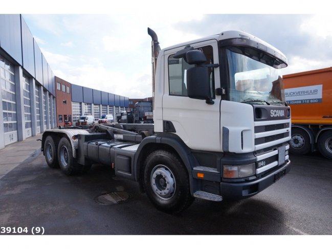 Scania  P 114.380 6x4 Manual Full Steel (4)