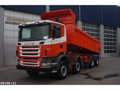 Scania R 420 8x4 Manual Steel suspension