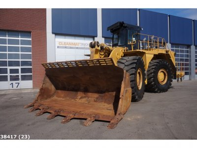 Caterpillar 990 H Wheel loader MA 4 New Tyres