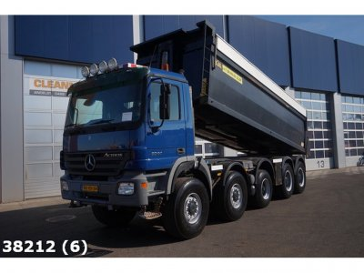 Mercedes-Benz Actros 5044 10x8 Manual Steel Hyva 23m3