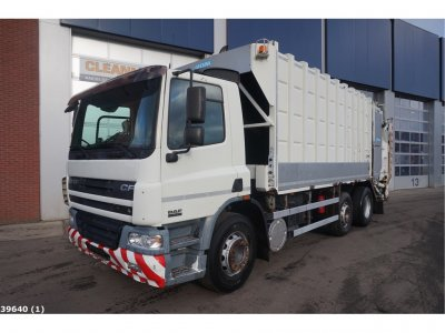 DAF FAG 75 CF 310 Manual Steel suspension