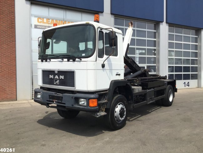 MAN  17.232 FA 4x4 Euro 1 Manual Full steel (0)