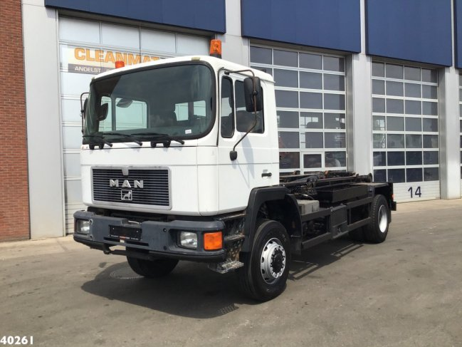MAN  17.232 FA 4x4 Euro 1 Manual Full steel (1)