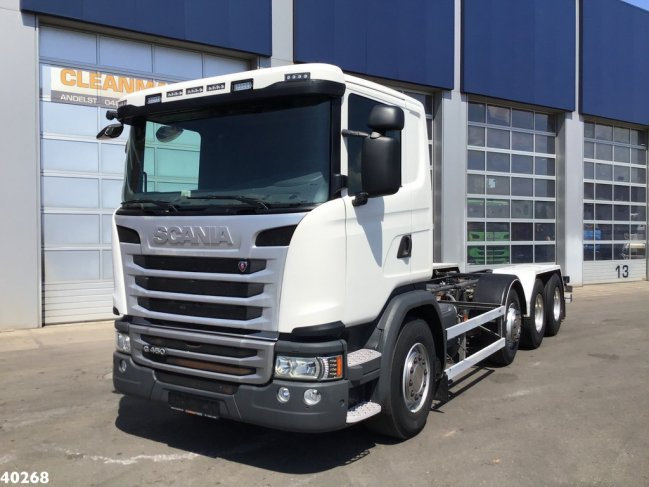 Scania  G 450 8x2 Retarder chassis (0)