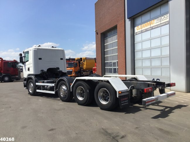 Scania  G 450 8x2 Retarder chassis (1)