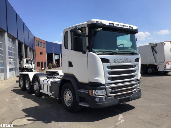 Scania  G 450 8x2 Retarder chassis (2)