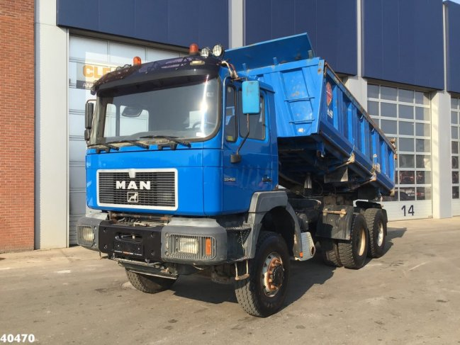 MAN  33.414 DFAK 6x6 Manual Full steel (0)