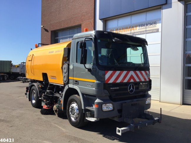 Mercedes-Benz  Actros 1832 Euro 5 Bucher Optifant 70 (0)