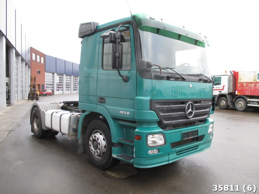 Mercedes benz actros 1841 more information - Mercedes Benz Actros 1841 3 Pedals With Hydraulic 2