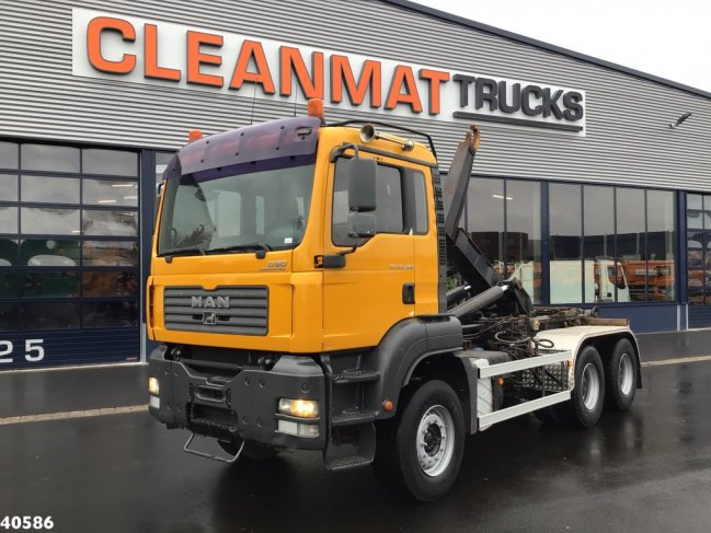 MAN  TGA 33.400 6x4 Manual Full steel (0)