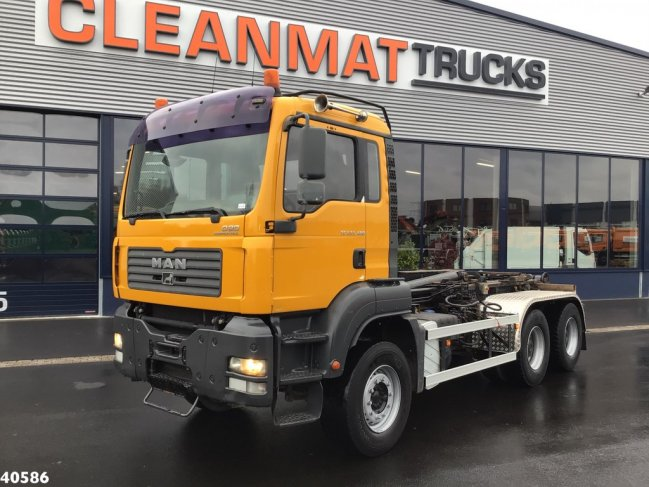 MAN  TGA 33.400 6x4 Manual Full steel (5)