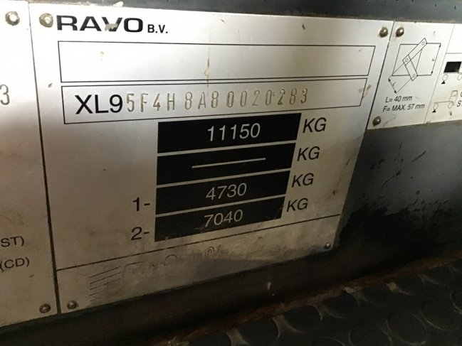 Ravo  580 EURO 4 80 km/h with 3-rd brush (8)