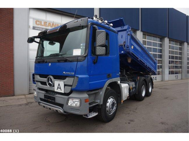 Mercedes-Benz  Actros 2636 6x4 Meiller EPS Full steel (0)