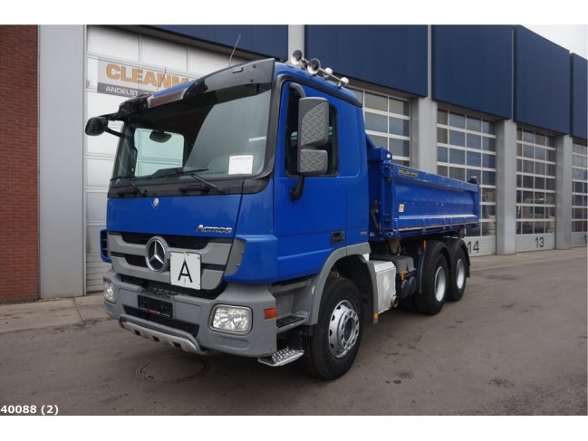 Mercedes-Benz  Actros 2636 6x4 Meiller EPS Full steel (3)