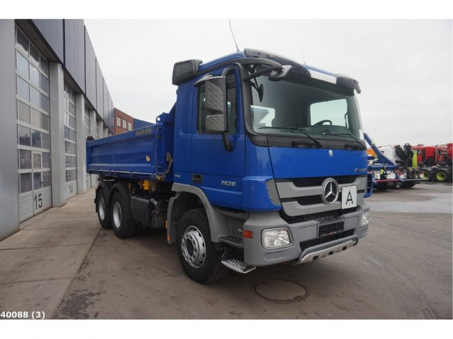 Mercedes-Benz  Actros 2636 6x4 Meiller EPS Full steel (4)