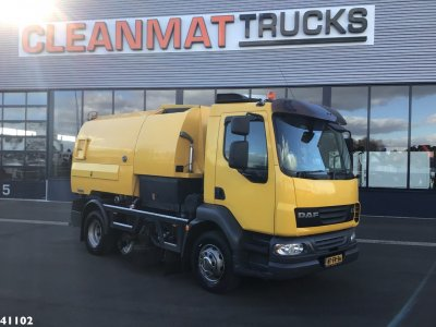 DAF FA 55 LF 180 Johnston VT-650