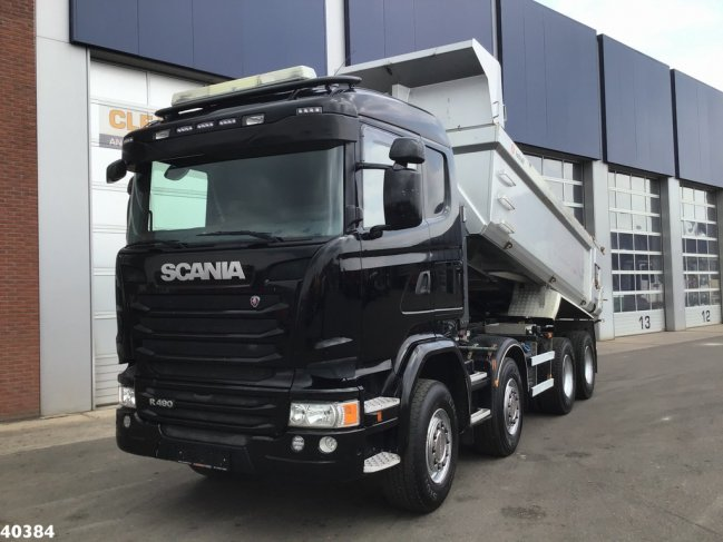 Scania  R 490 8x4 Euro 6 Full steel Retarder (0)
