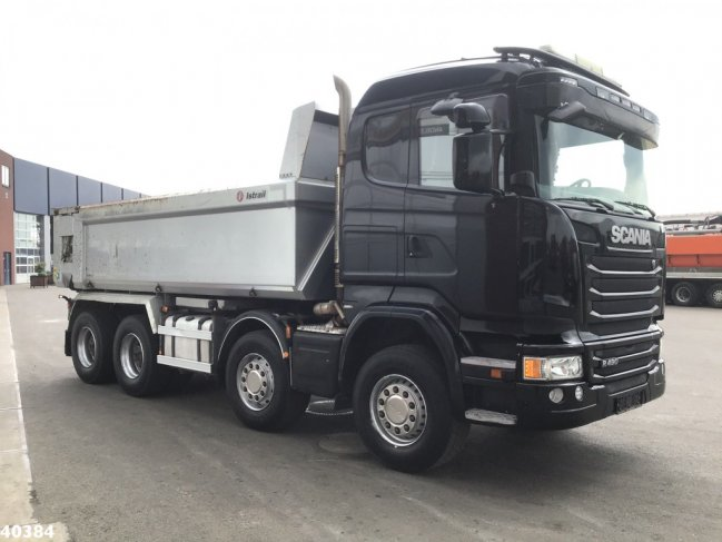Scania  R 490 8x4 Euro 6 Full steel Retarder (5)