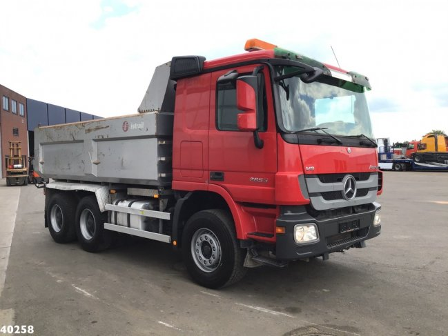 Mercedes-Benz  Actros 2655 V8 6x4 Retarder Full steel (3)