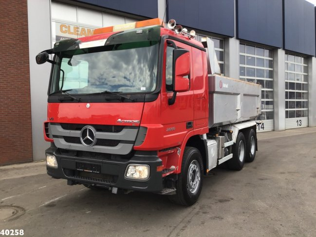 Mercedes-Benz  Actros 2655 V8 6x4 Retarder Full steel (4)