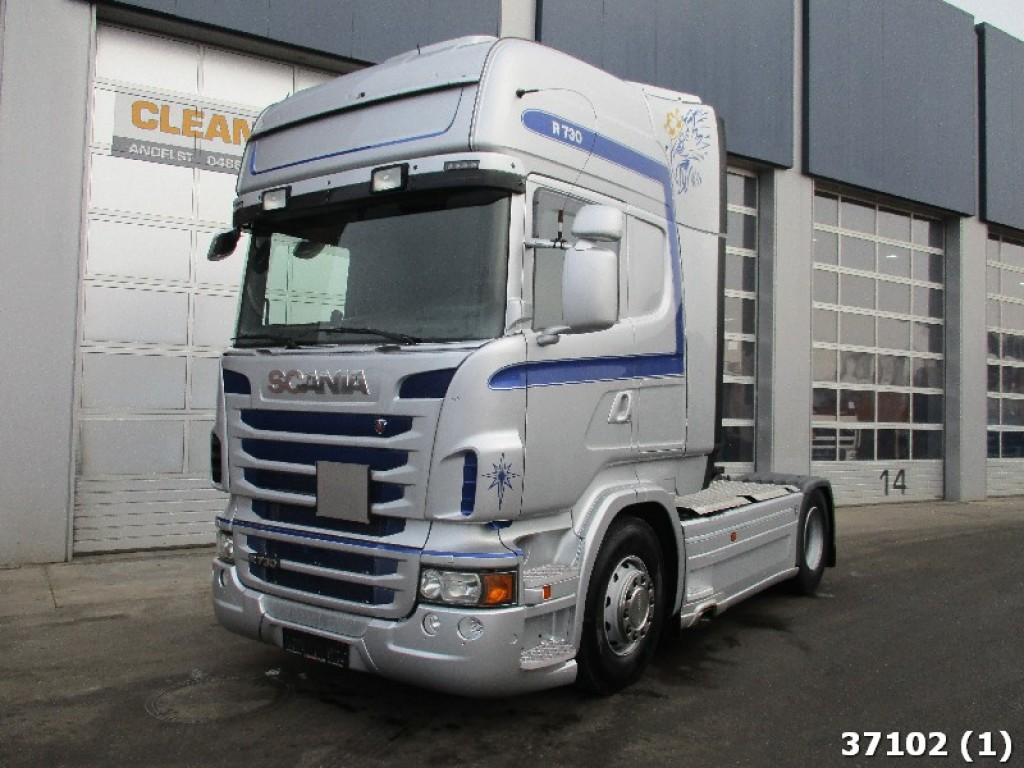 scania r 730 v8 euro 5 eev retarder stock clean mat trucks. Black Bedroom Furniture Sets. Home Design Ideas