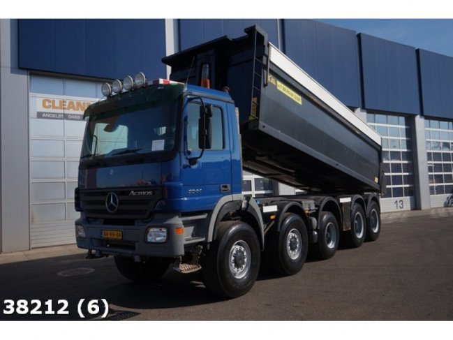 Mercedes-Benz  Actros 5044 10x8 Manual Steel Hyva 23m3 (0)