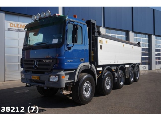 Mercedes-Benz  Actros 5044 10x8 Manual Steel Hyva 23m3 (7)