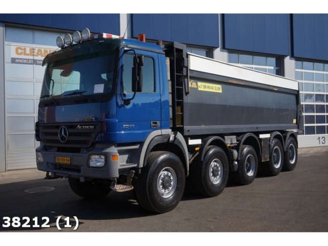 Mercedes-Benz  Actros 5044 10x8 Manual Steel Hyva 23m3 (12)