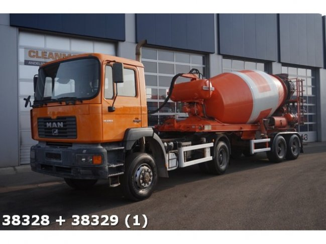 MAN  FE 410 4x4 BB Manual Steel + Liebherr 12m3 (0)