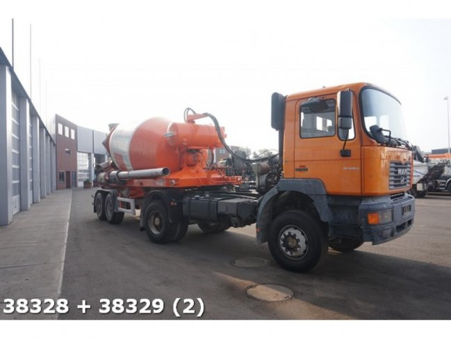 MAN  FE 410 4x4 BB Manual Steel + Liebherr 12m3 (4)
