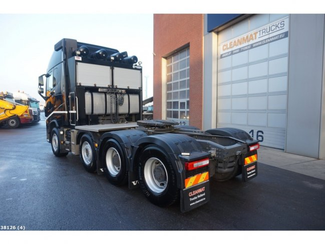 Volvo  FH 16.750 8x4 Euro 6 Retarder Tridem Pusher Heavy transport 170 TON (1)