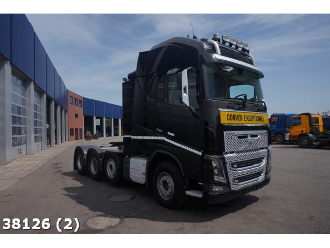 Volvo  FH 16.750 8x4 Euro 6 Retarder Tridem Pusher Heavy transport 170 TON (3)